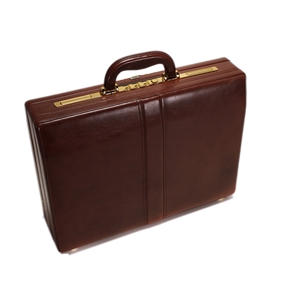 Leather Attache Case -131-0239
