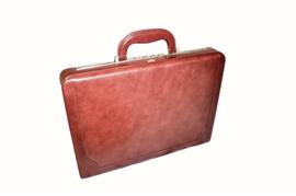 Leather Attache Case -131-0249