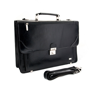 LEATHER BRIEF CASE 133-0426