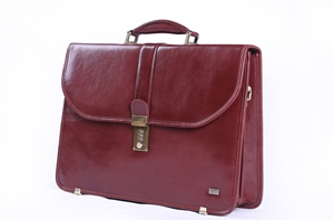 Leather Brief Case - CODE 133-0422