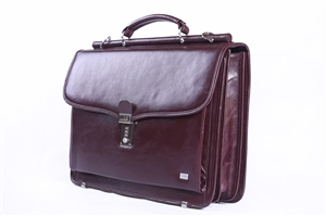 LEATHER BRIEF CASE 133-0476