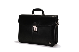 Leather Brief Case - CODE 133-0479