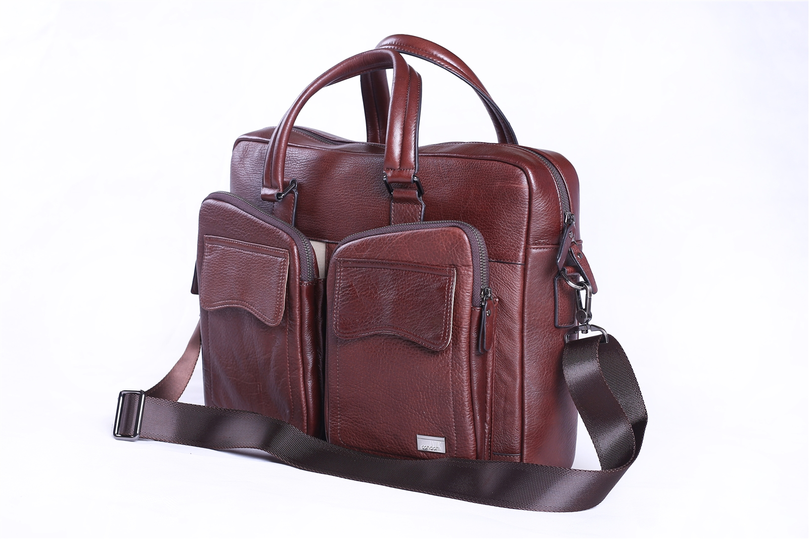 Leather Brief Case - CODE 133-0487