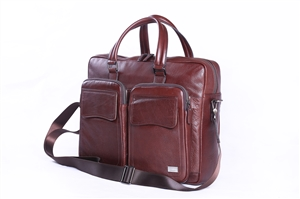 Leather Brief Case - CODE 133-0488