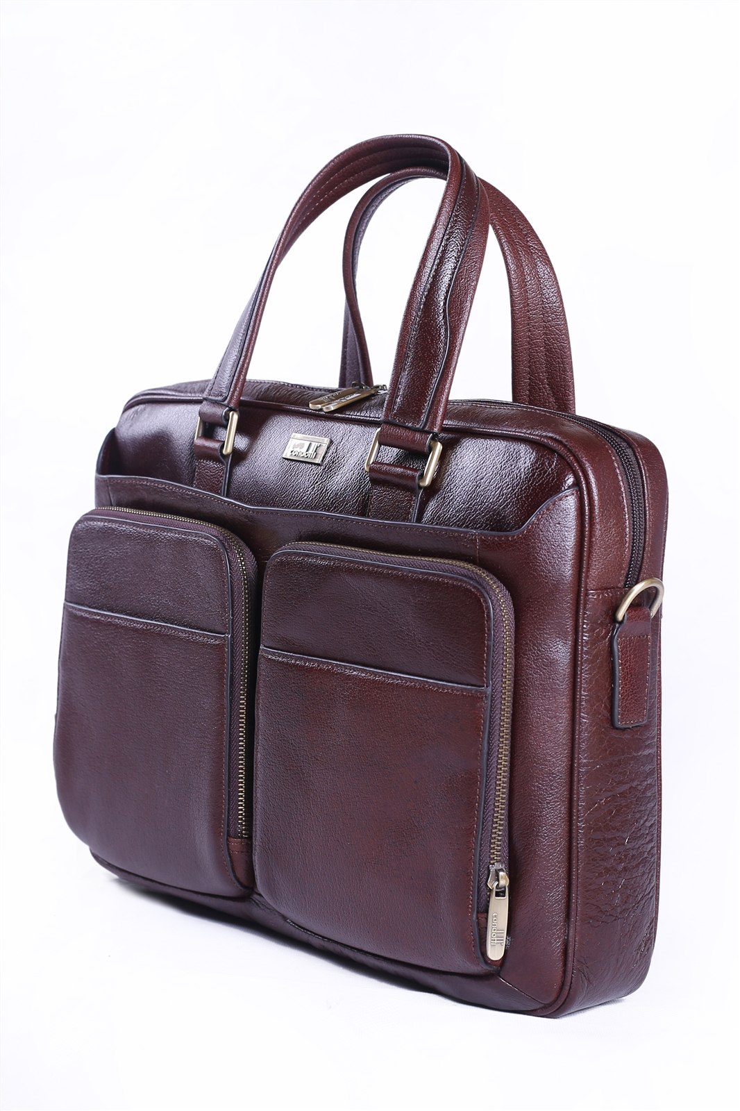 Leather Brief Case - CODE 133-3821