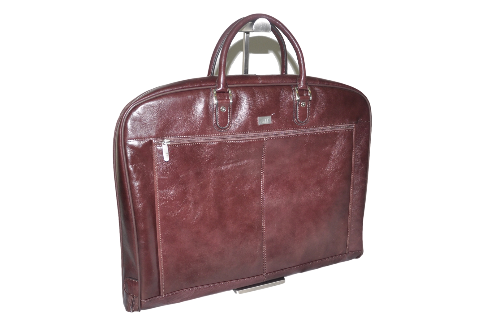 LEATHER SUITE BAG -CODE 136-0713