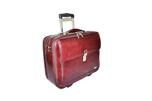 Leather Trolley Case - CODE 137-0828