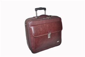Leather Trolley Case - CODE 137-0846