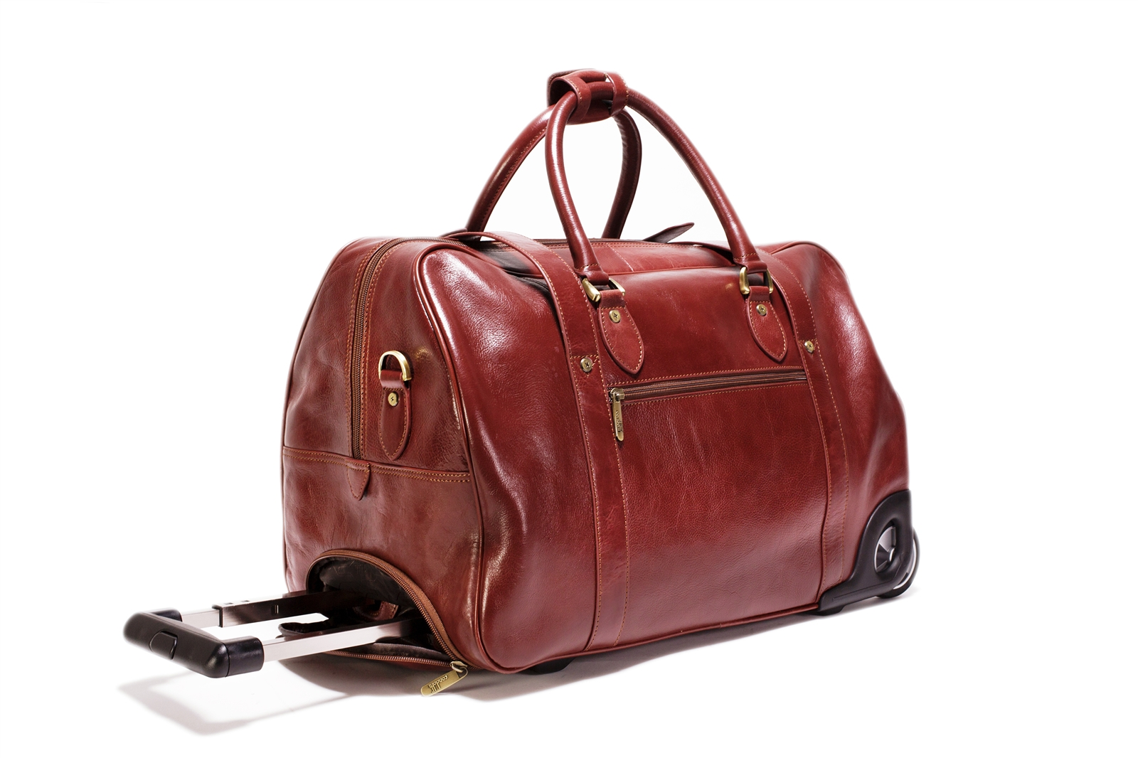 Leather Trolley Case - CODE 138-0939