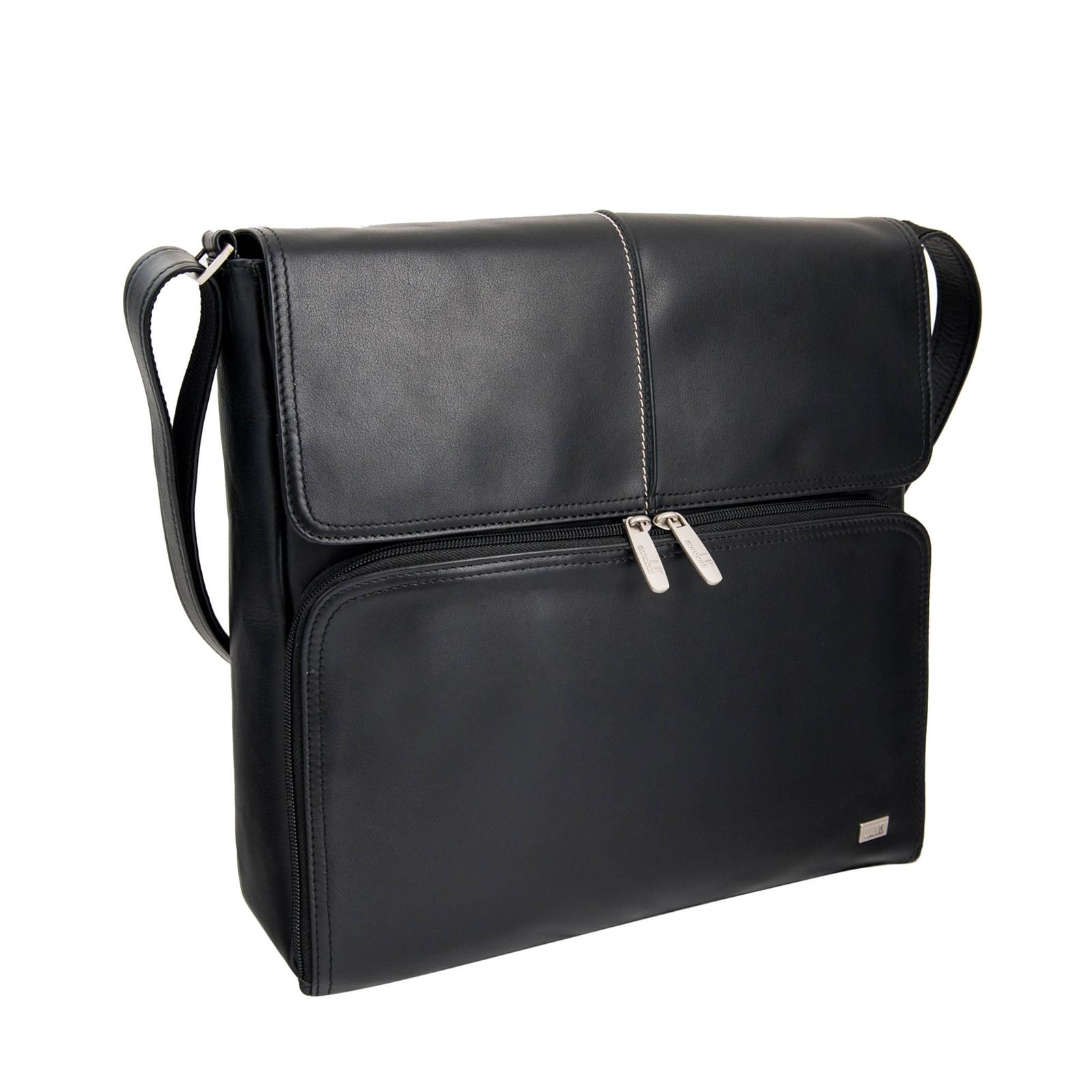 LEATHER SHOULDER BAG- 139-1038N