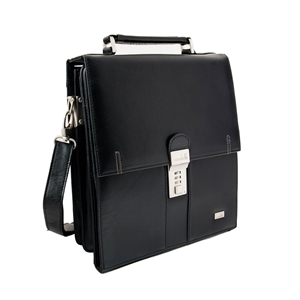 LEATHER SHOULDER BAG- 139-1039N