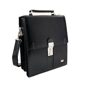 LEATHER SHOULDER BAG- 139-1039N