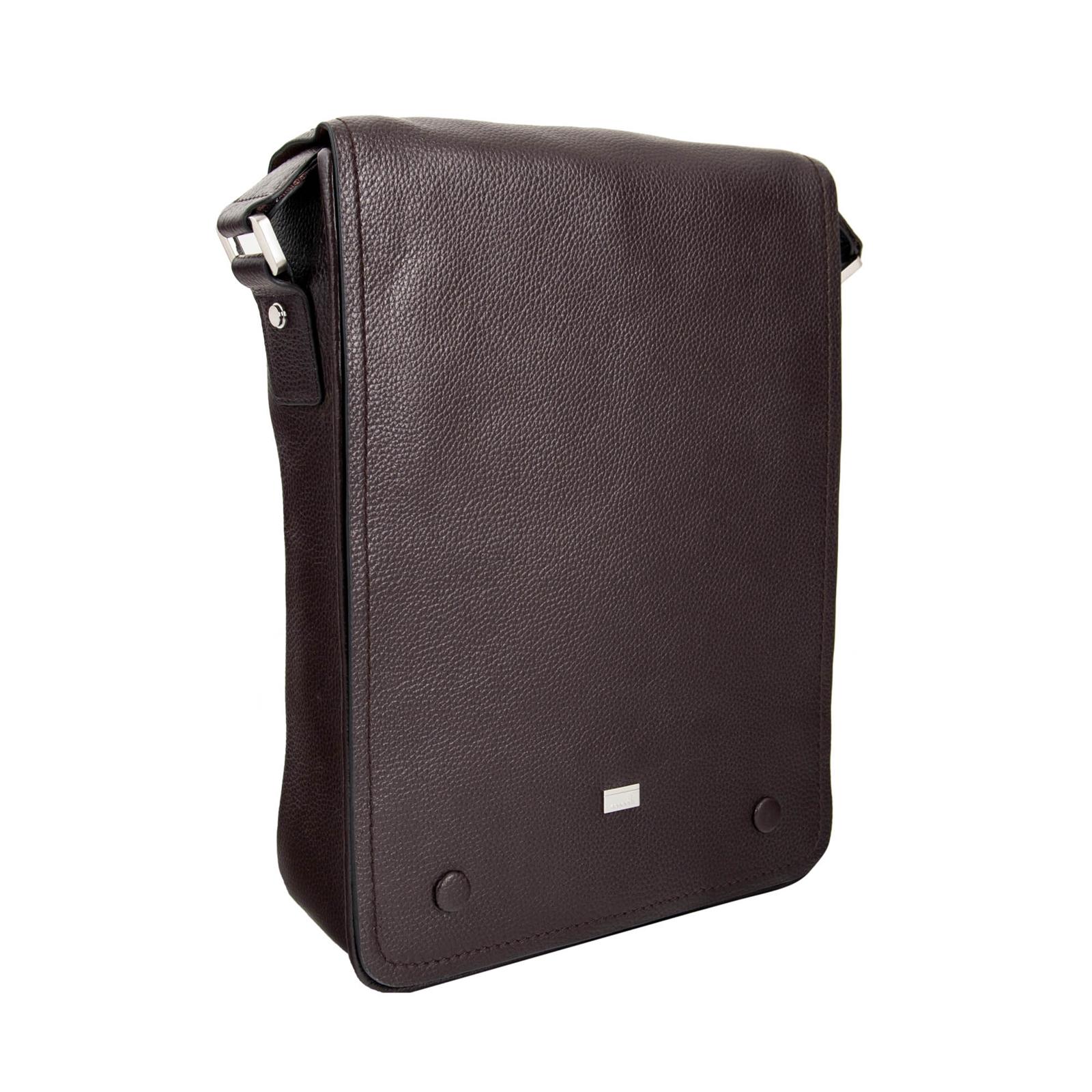 LEATHER SHOULDER BAG- 139-1044