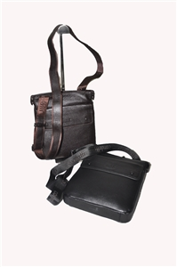 LEATHER SHOULDER BAG- 139-1046