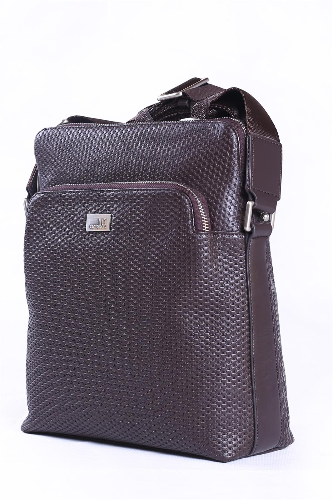 Leather Shoulder Bag-139-3913