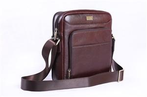 Leather Shoulder Bag-139-3918