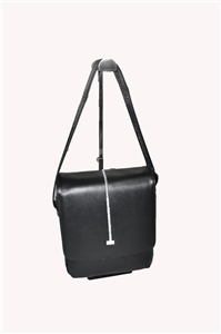 LEATHER SHOULDER BAG- 139-3914