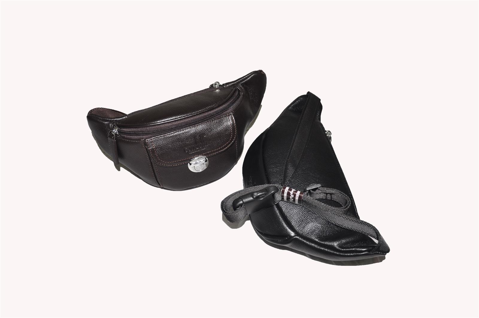 Leather Waist Bag 141-1214
