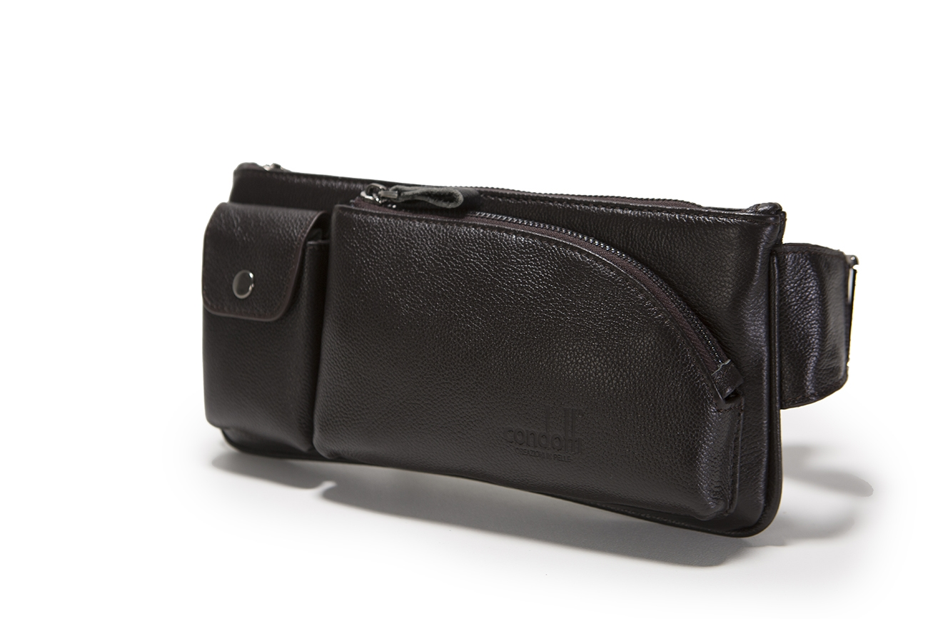 Leather Waist Bag -141-1234