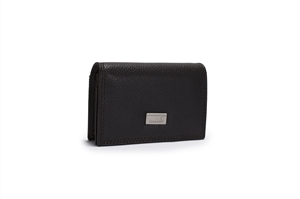 LEATHER CARD WALLET 142-1391
