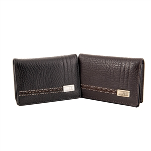 LEATHER CARD WALLET 142-1676