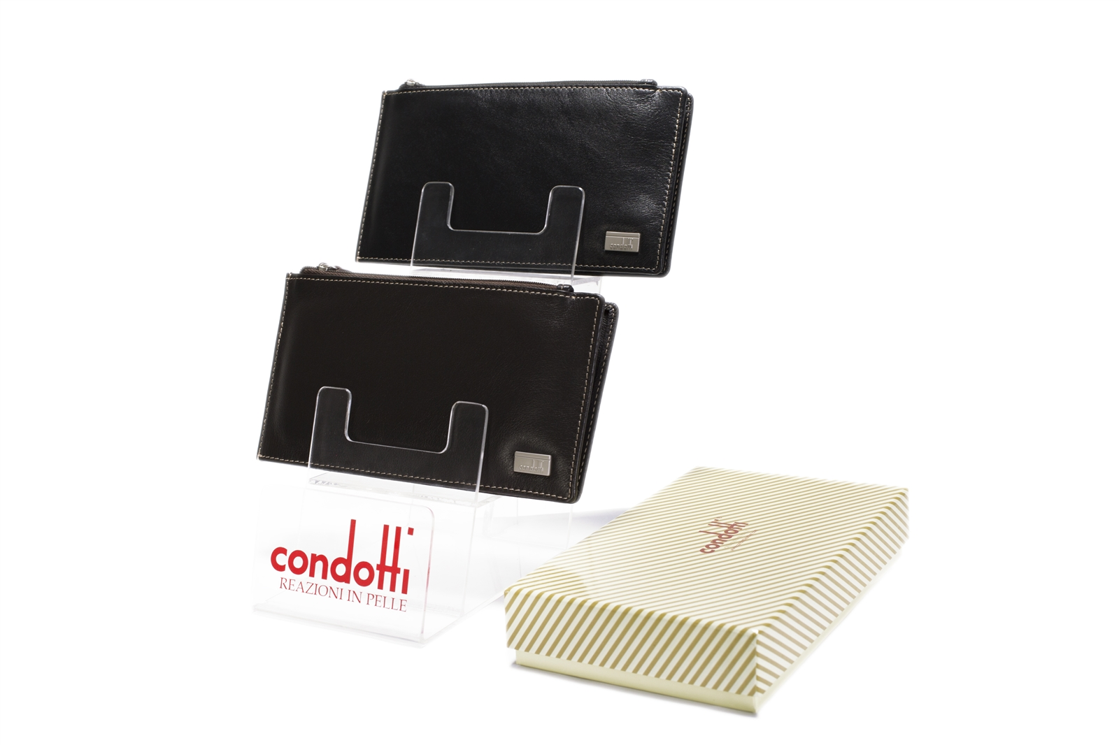 Leather Card Holders - 142-1869N