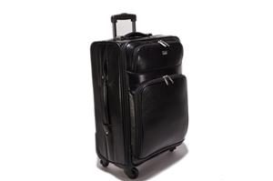 Leather Trolley Case 4/wheels 146-1705