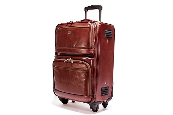 Leather Trolley Case/4Wheels - CODE 146-1717/4