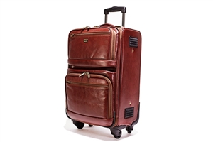 Leather Trolley Case/4Wheels - CODE 146-1717/4