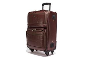 Leather Trolley Case /4 wheels 146-1717