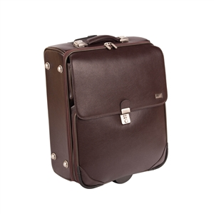 LEATHER TROLLEY  CASE - CODE 146-1724