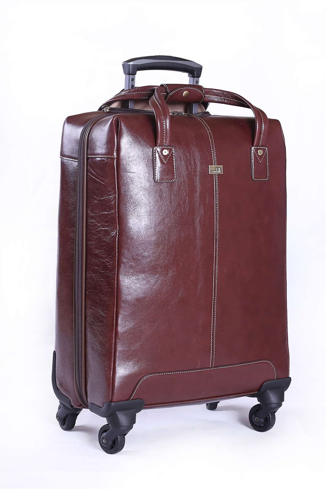 Leather Trolley Case/ 4Wheels - CODE 146-1746