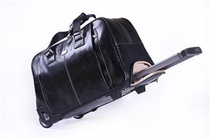 Leather Trolley Case/ 2Wheels - CODE 146-1747