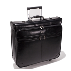 Leather Trolley Suit Bag- CODE 136-0710