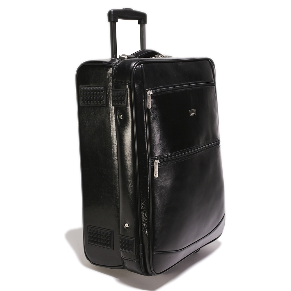 Leather Trolley Case/2Wheels - CODE 146-1719/2