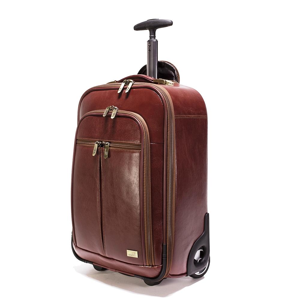 Leather Trolley Case/2Wheels - CODE 146-1712/2