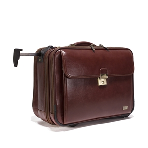 Leather Trolley Case - CODE 137- 0841