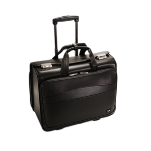 Leather Trolley Pilot Case - CODE 132-0312