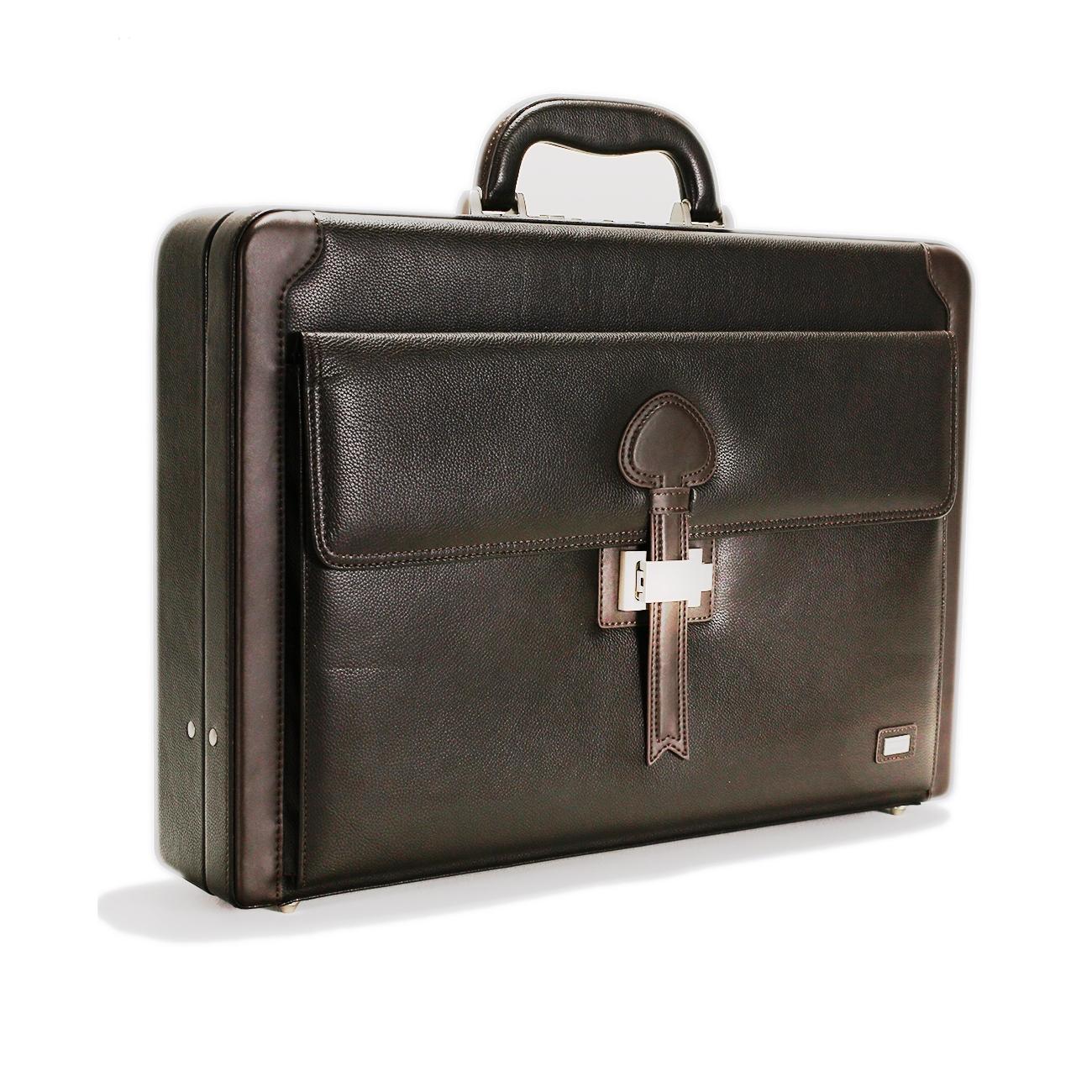 Leather Attache Case - CODE 131-0259