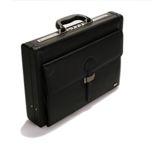 Leather Attache Case - CODE 131-0258