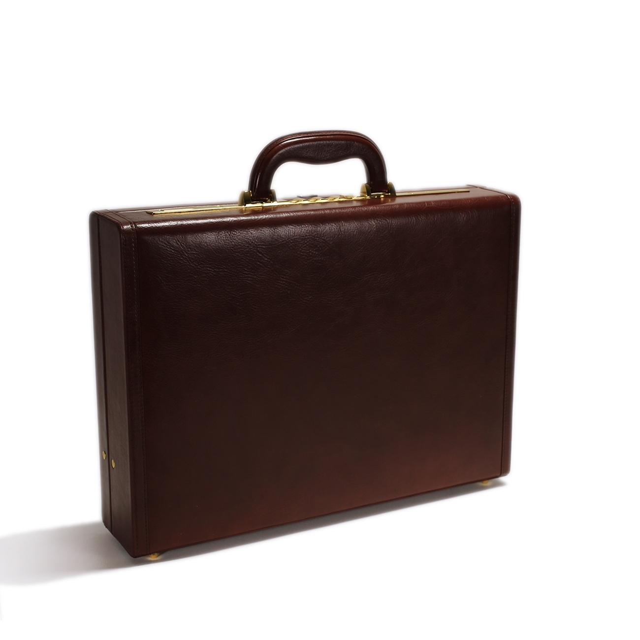Leather Attache Case - CODE 131-0254