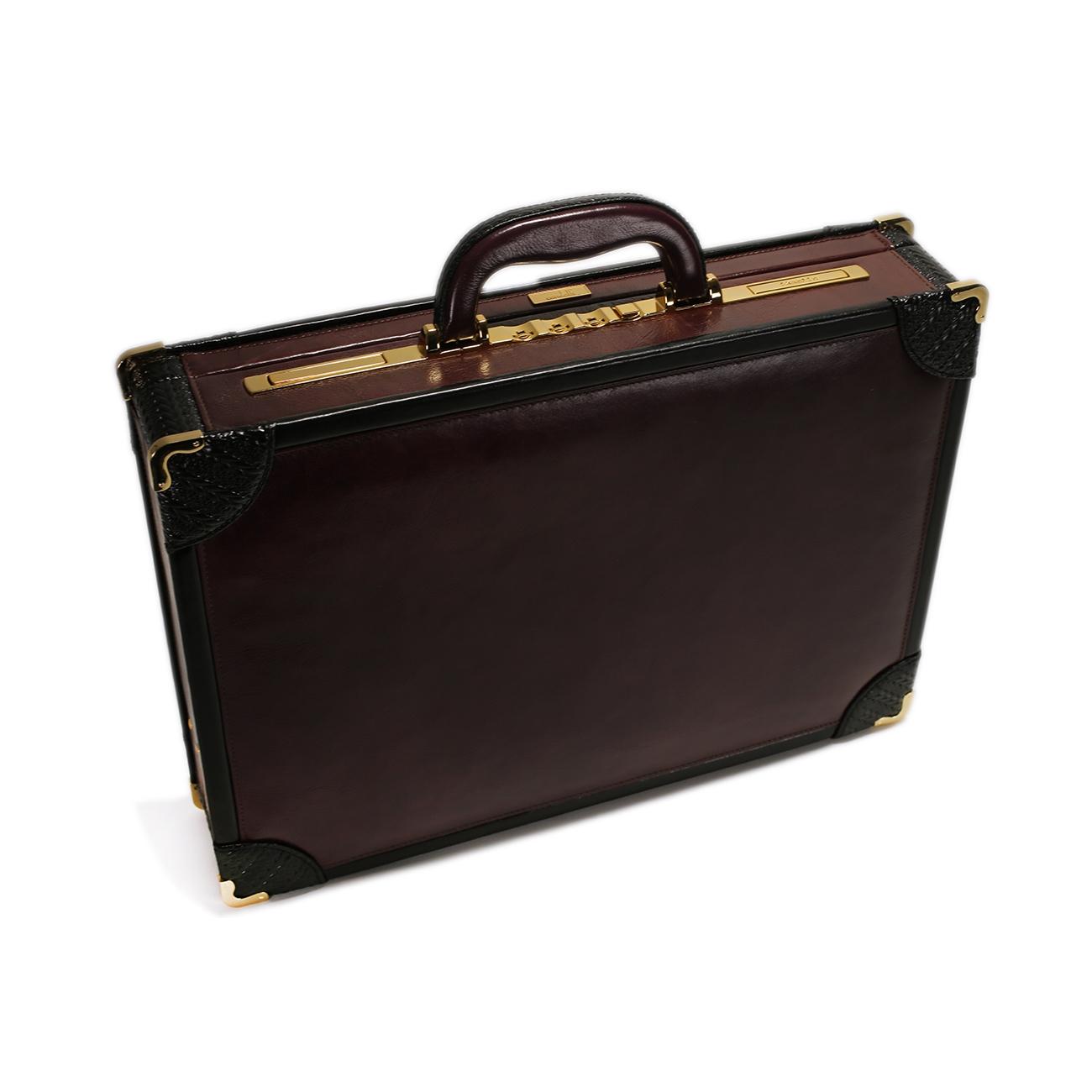 Leather Attache Case - CODE 131-0261
