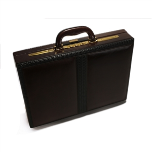 Leather Attache Case - CODE 131-0260
