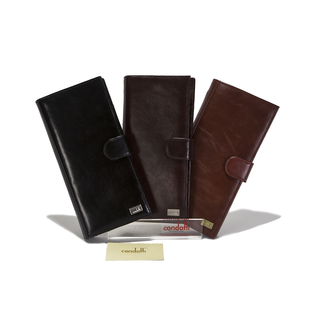 Leather Credit Card Wallet - CODE 142-1311