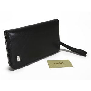 Leather Long Wallet - CODE 142-1368