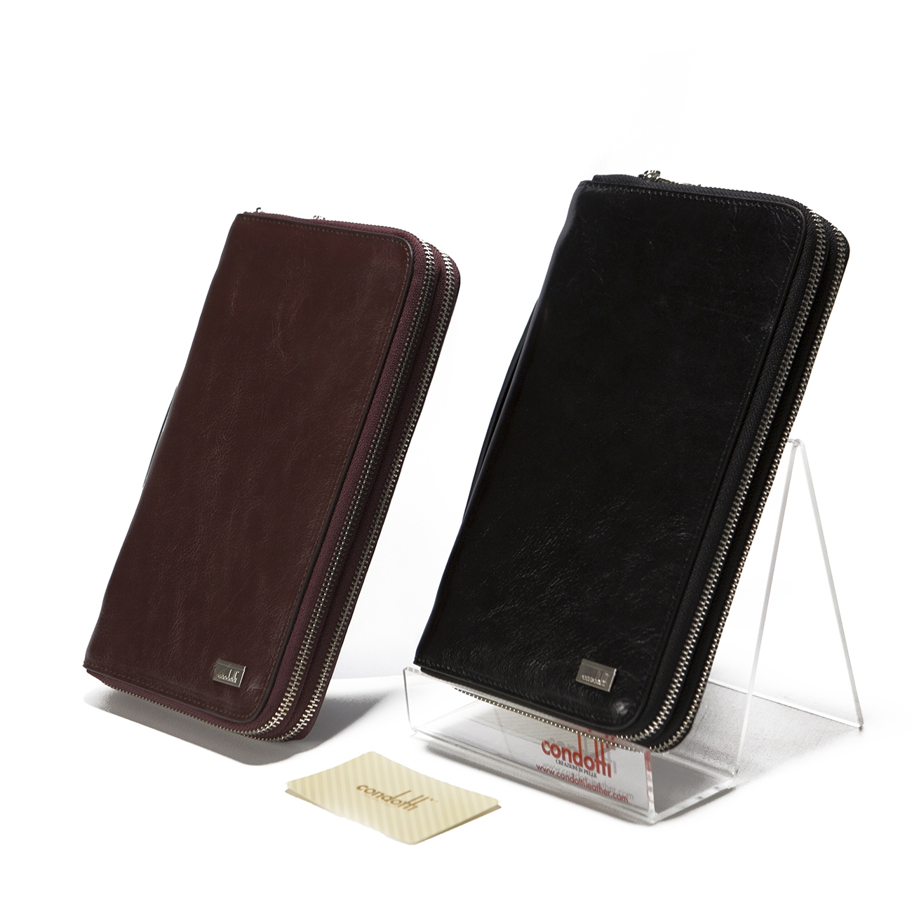 Leather Long Wallet - CODE 142-1369