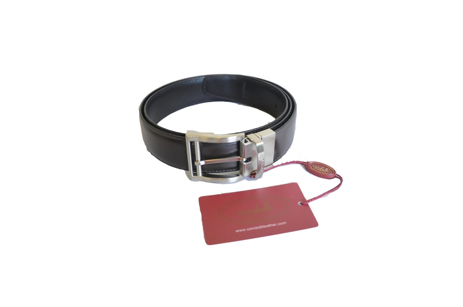 Reverse Needle Buckle Belt (33 mm) - N33-3056-SN