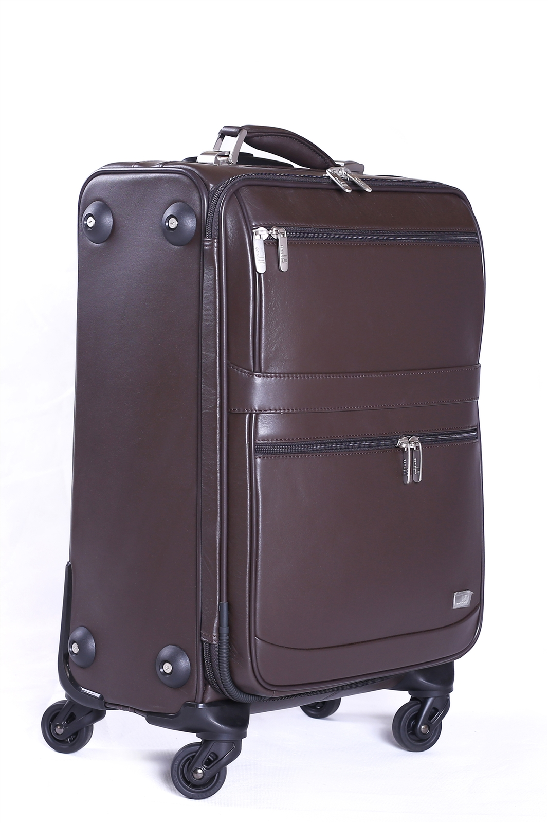 Leather Trolley Case - CODE 146-1722/4
