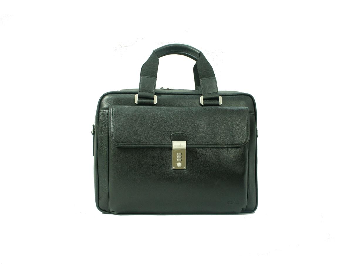Leather Brief Case - CODE 133-0428